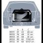 Trixie Transportbox Vario, Größe: L: 99 × 65 × 71/61 cm