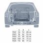 Trixie Transportkäfig, Größe: S: 64 × 54 × 48 cm