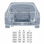 Trixie Transportkäfig, Größe: M: 78 × 62 × 55 cm