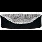 Trixie Vital Bett Lino | schwarz-grau, Größe: 110 × 92 cm