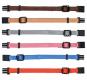 Trixie Welpenhalsbänder | 6 Stück, Farbe: braun, beige, grau, organge, rosa & hellblau