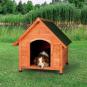 Trixie natura Hundehütte Cottage mit Satteldach | natur, Größe: M-L: 83 × 87 × 101 cm