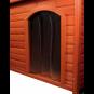 Trixie natura Kunststofftür für Hundehütte, Größe: 32 × 43 cm