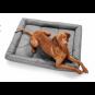 Hunter Hunde-Matte Vermont grau | XL – 120x100 cm