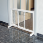 Trixie Hunde-Absperrgitter 65-108x61x31 cm, weiß