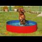 Karlie Doggy Pool | blau-rot ø: 80 cm